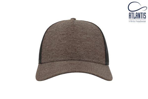 Cepure ar sietiņu Melange