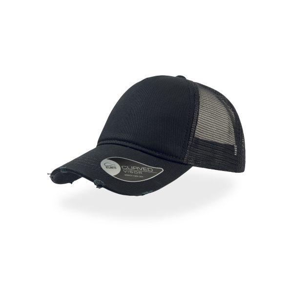 Nobružāta cepure ar sietiņu