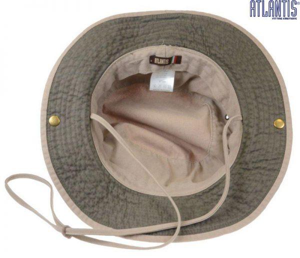 Krokodilu mednieka cepure
