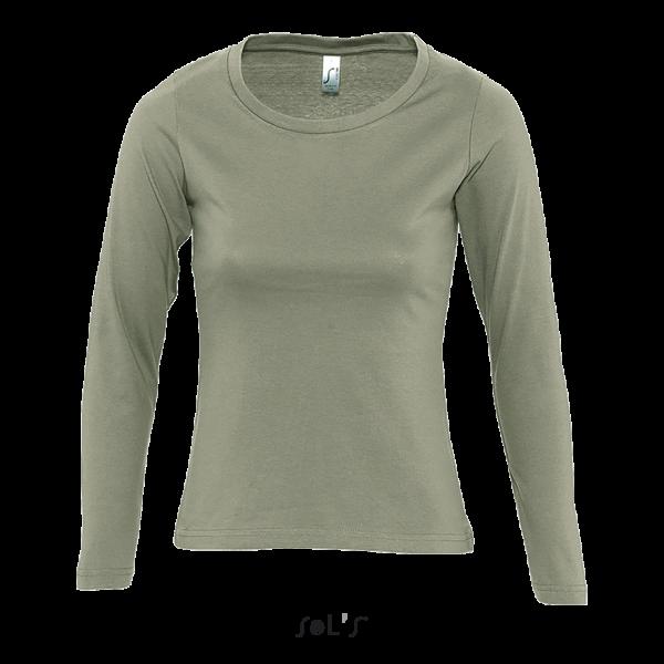 Sieviešu T-krekls ar garām piedurknēm