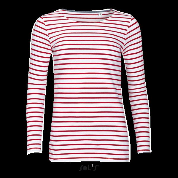 Jūrnieku T-krekls sievietēm