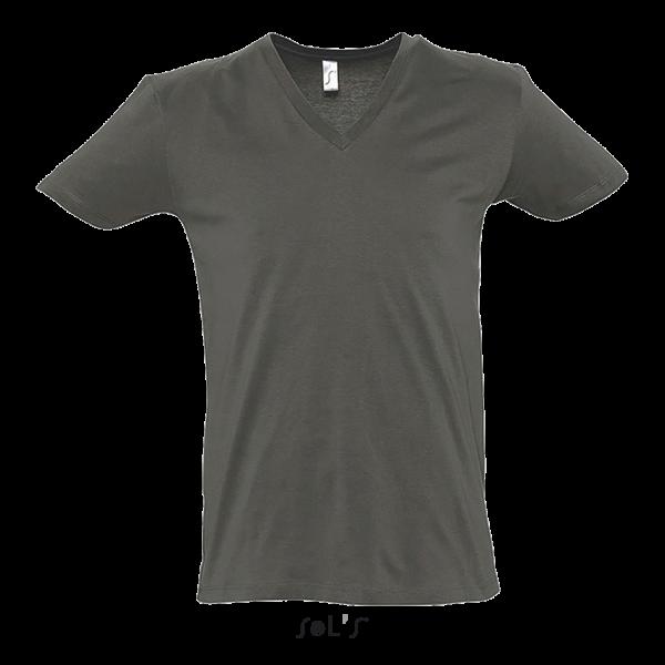 T-krekls ar dziļu V-veida izgriezumu