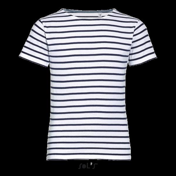 Strīpains bērnu T-krekls