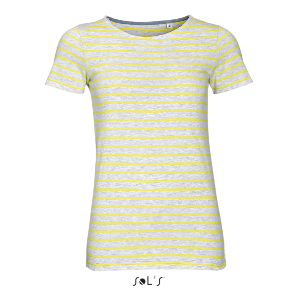 Strīpains sieviešu T-krekls