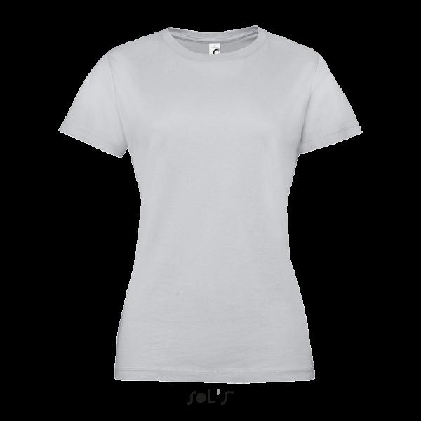Vidēji biezs sieviešu T-krekls