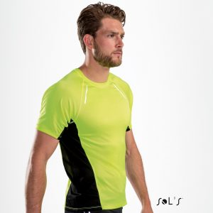 Skriešanas T-krekls ar elastānu