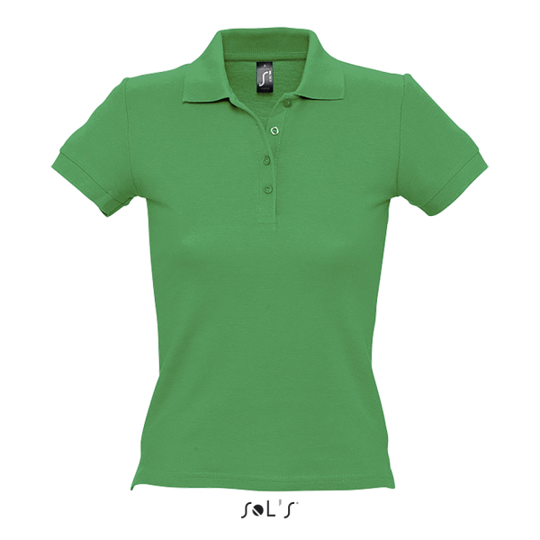 Bieza adījuma sieviešu polo krekls
