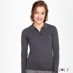 Sieviešu SLIM-FIT garroku polo krekls