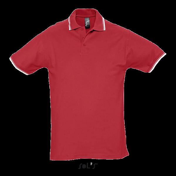 Polo krekls ar kontrastlīniju