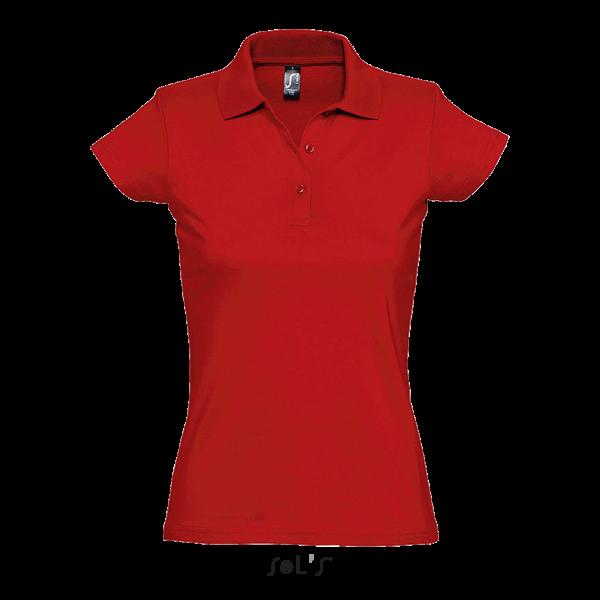 Gludas kokvilnas sieviešu polo krekls
