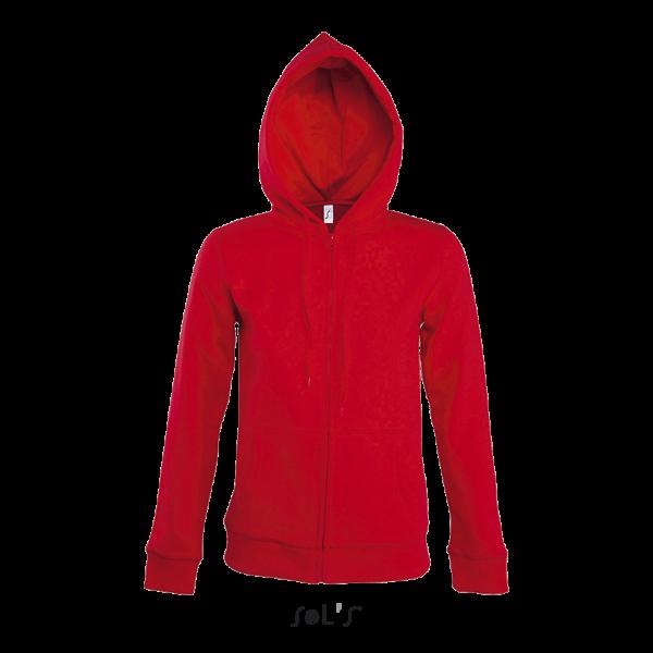 Sieviešu jaka ar kapuci un rāvējslēdzēju