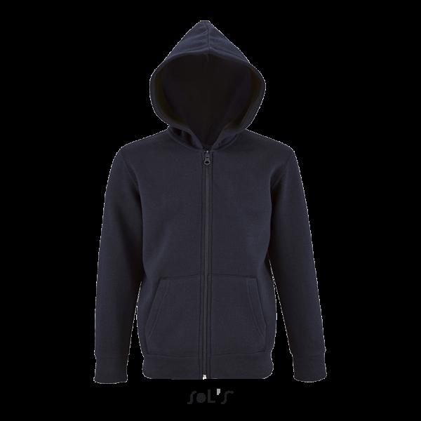 Bērnu jaka ar kapuci un rāvējslēdzēju