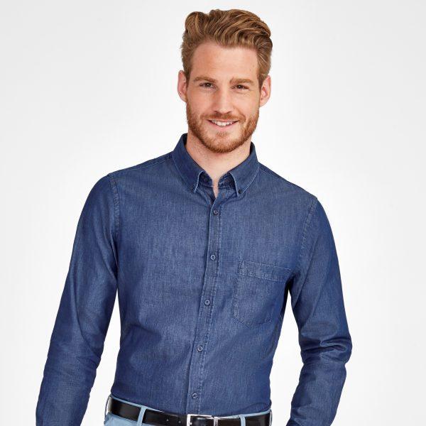 Vīriešu džinsu krekls