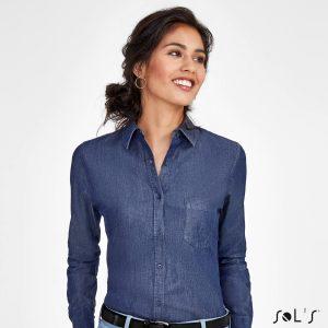 Sieviešu džinsu krekls