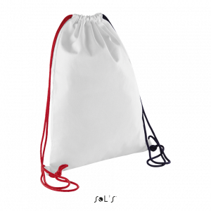 Trīskrāsu sporta maisiņš