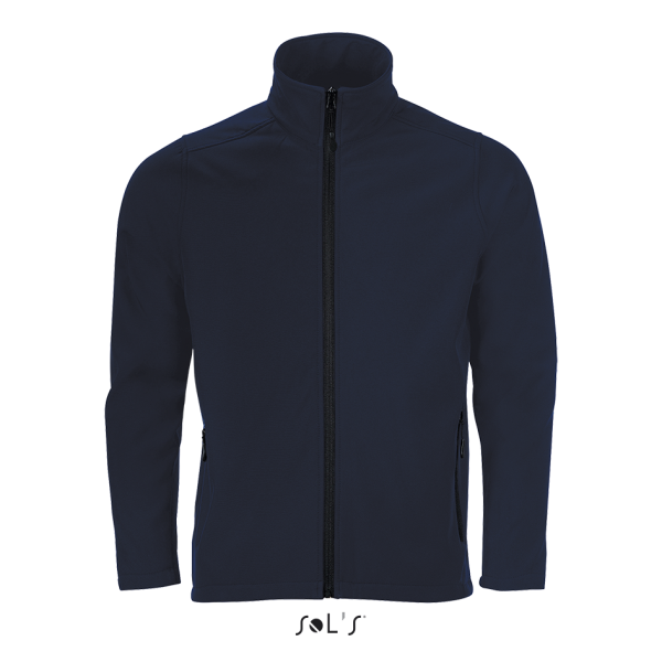 Vidēji bieza vīriešu softshell jaka