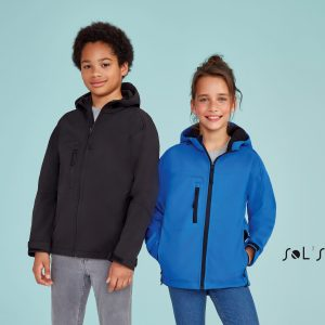 Bērnu softshell jaka