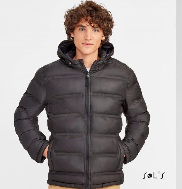 Polsterēta vīriešu jaka