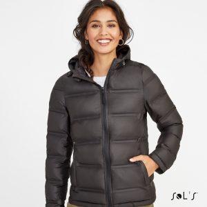 Polsterēta sieviešu jaka