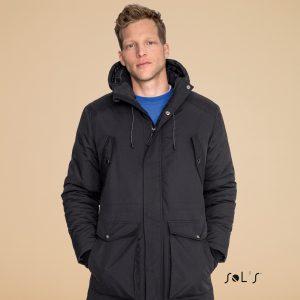 Gara vīriešu ziemas jaka