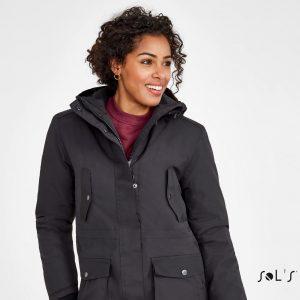Gara sieviešu ziemas jaka