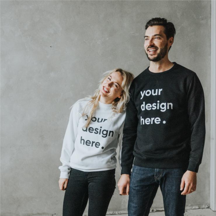 Džemperu un hoodie apdruka