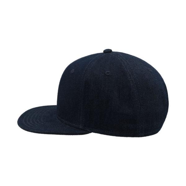 Džinsu cepure ar taisnu nagu