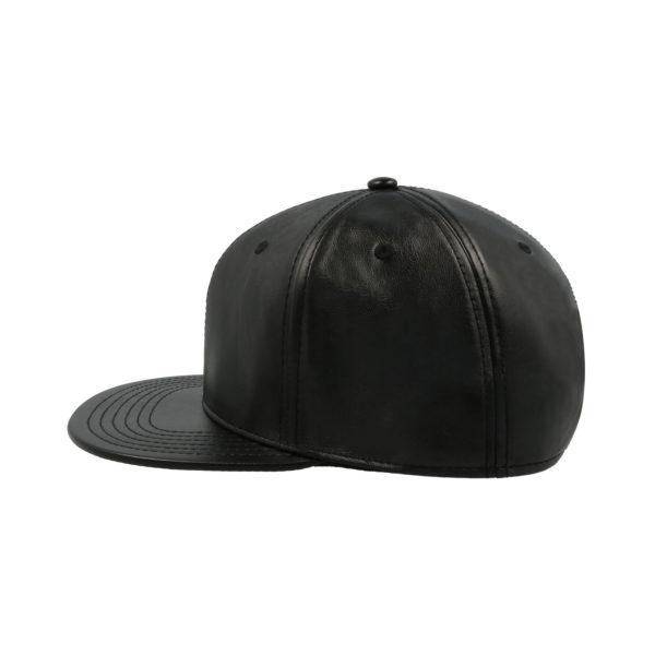 Ādas cepure ar taisnu nagu