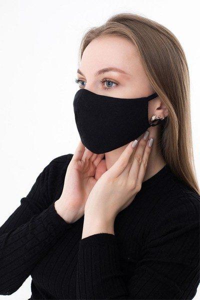 Melna sejas maska VIP (no 1 gab)